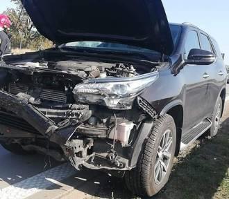 Dwa wypadki na autostradzie. Duże korki na A4