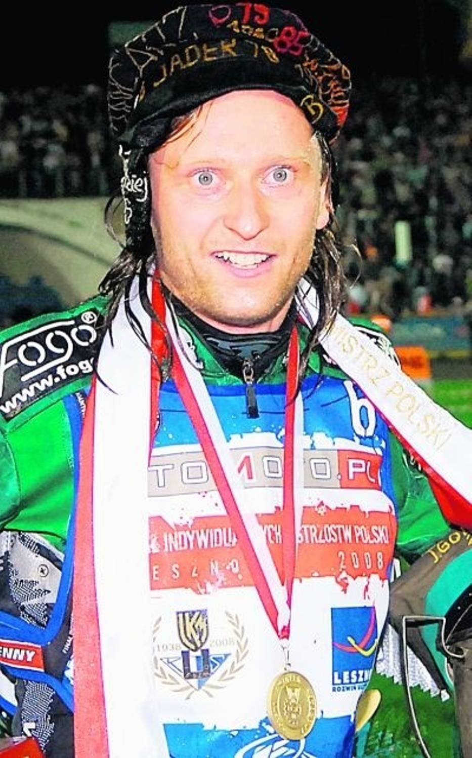 Adam Skórnicki, mistrz  Polski z 2008 roku