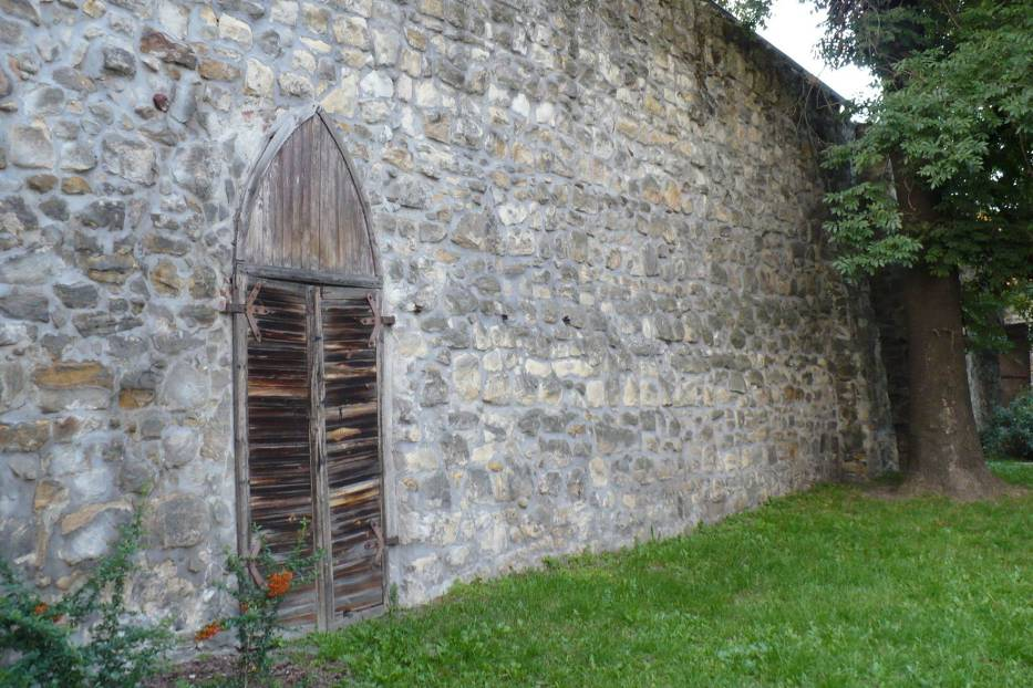 Podziwiałam więc w Bolesławcu średniowieczne mury obronne… Fot