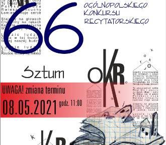 Okręgowe eliminacje konkursu recytatorskiego odbędą się w Sztumie 8 maja