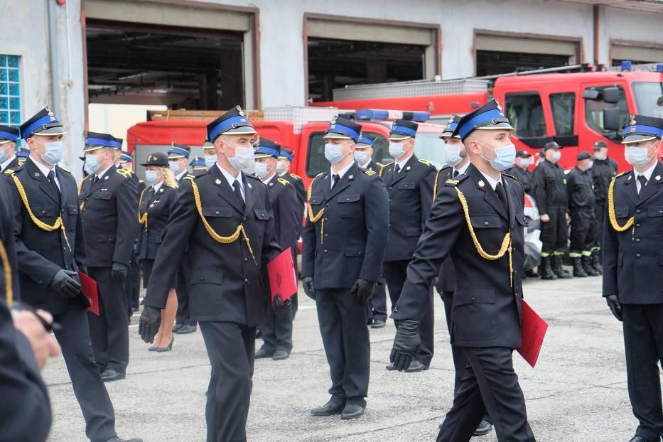 Straż pożarna w Żarach