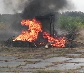 Ćwiczenia: awaryjne lądowanie i pożar samolotu w Babimoście