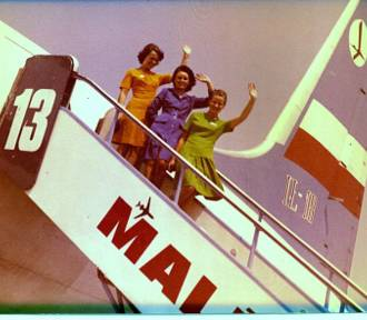 """""""Dotknij stewardesy, będziesz miała szczęście"""""""