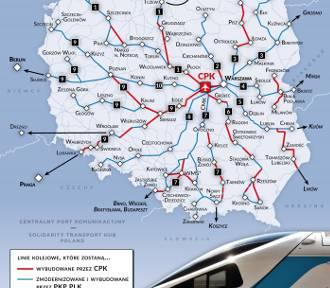 Brodnica nie ma być połączona z siecią szybkiej kolei, ale poseł ma pomysł, jak mieszkańców z nią