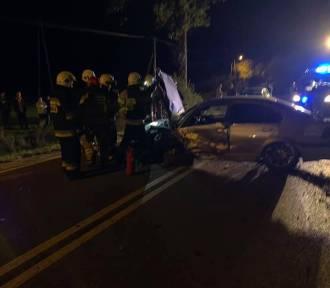 Małastów. Wypadek na drodze wojewódzkiej 977 Gorlice-Konieczna