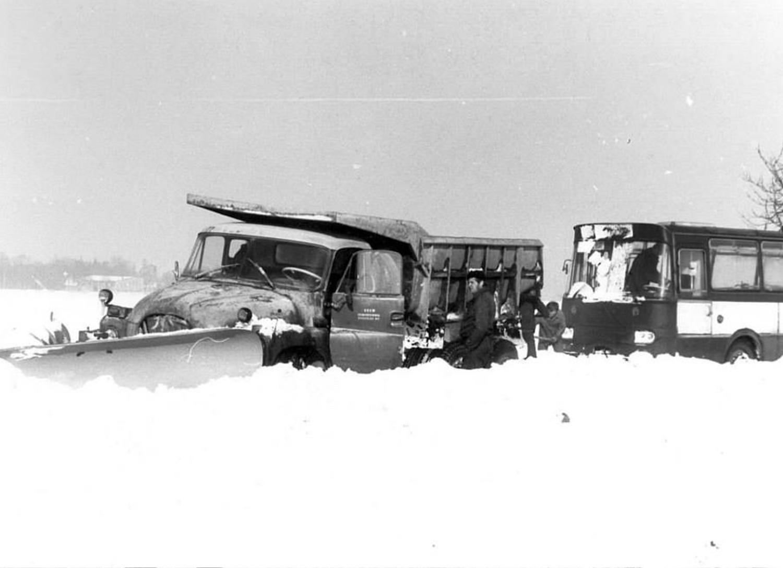 Droga Strzelce Opolskie - Góra Św. Anny, 1979