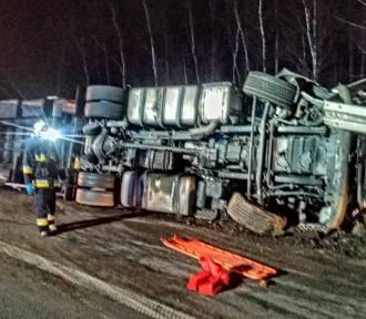 Wypadek na płatnym odcinku A4. Autostrada była zablokowana