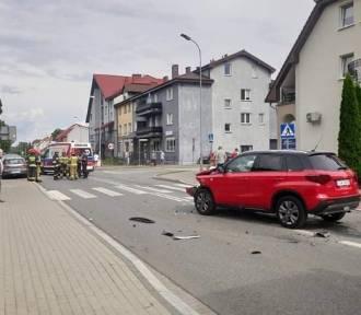 Zderzenie dwóch aut w Kostrzynie nad Odrą. Wyglądało groźnie...