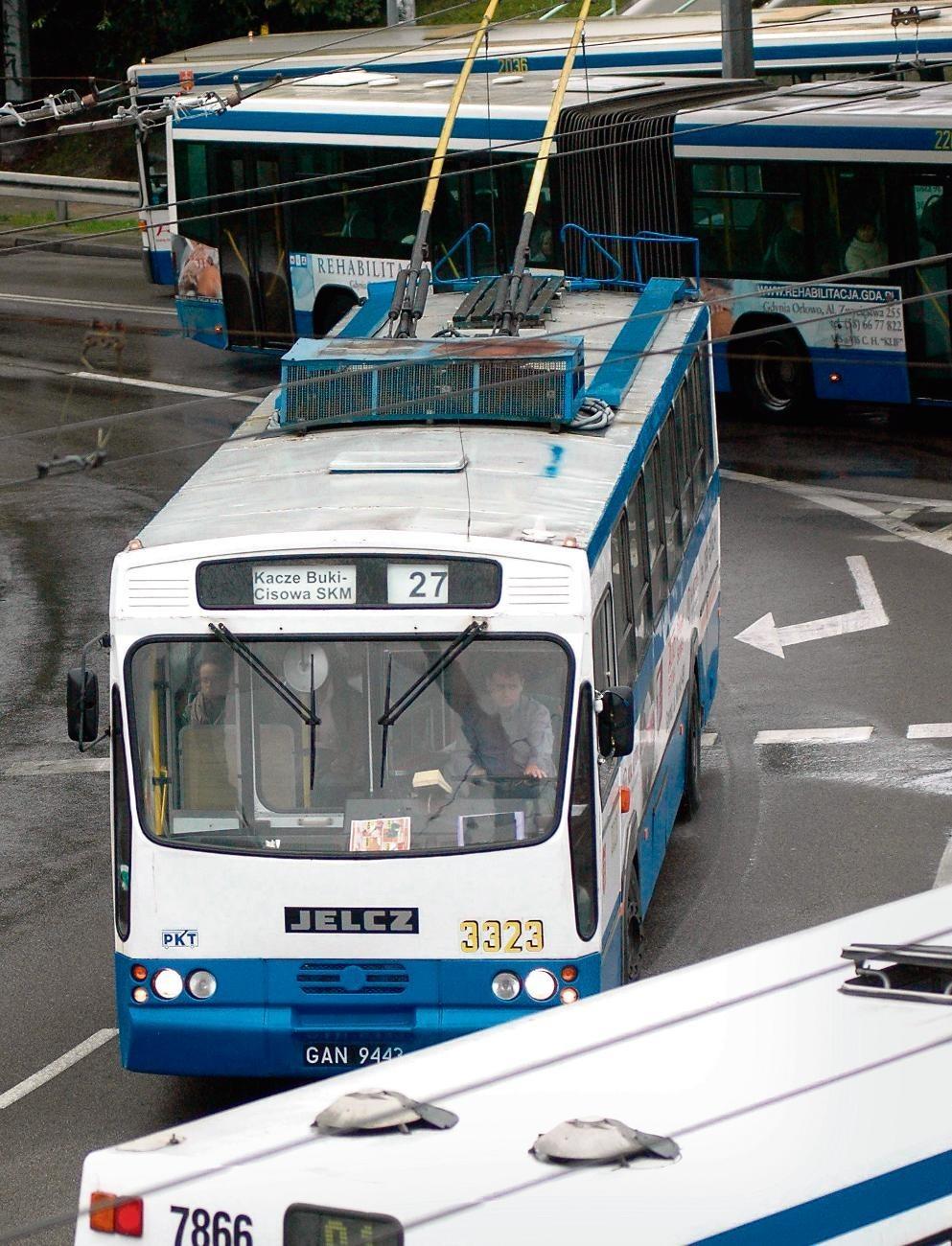 Widok tak starych trolejbusów to już w Gdyni rzadkość