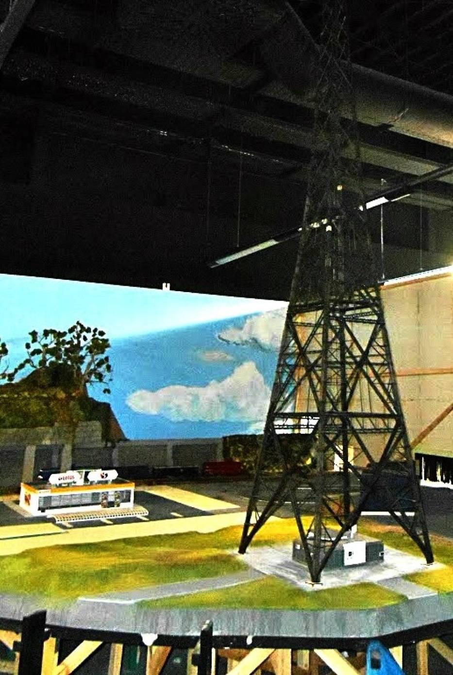 Radiostację można zobaczyć na makiecie w Kolejkowie Gliwice