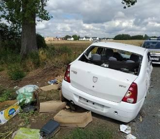Problem z wrakami. Wiele aut porzucają pracownicy z Ukrainy