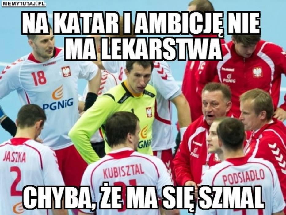 Memy po meczu Polska - Katar