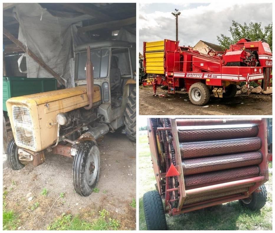 Maszyny rolnicze na licytacjach komorniczych
