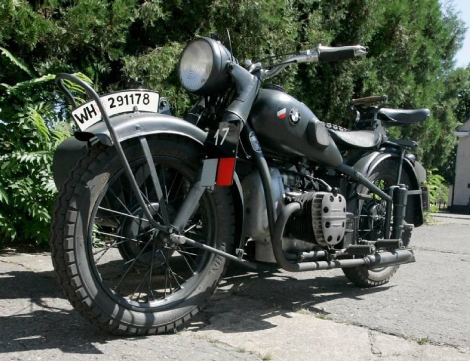 Motocykl Bmw R71 Z Wozkiem Naszemiastopl