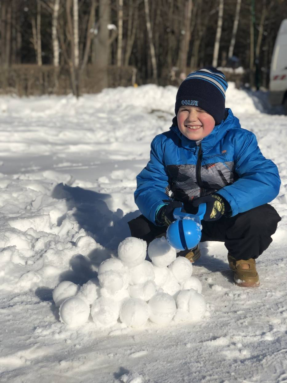 Urządzenie do śnieżek