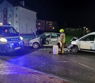Malbork. Wypadek na ulicy Michałowskiego [ZDJĘCIA]. Kobieta trafiła do szpitala