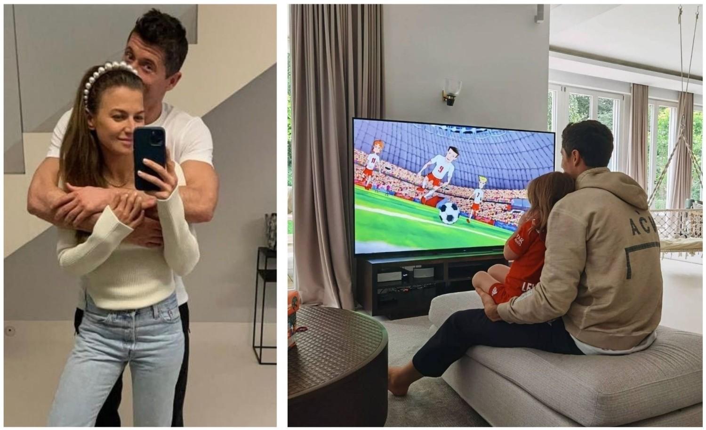 Anna i Robert Lewandowscy z córkami podróżują pomiędzy trzema domami - na co dzień mieszkają w Monachium, mają luksusowy apartament w Warszawie, a wolne chwile uwielbiają spędzać w letniej rezydencji w Stanclewie na Warmii