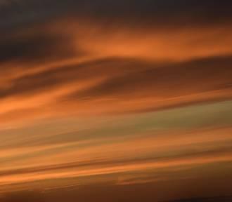 Taki był wczoraj zachód słońca ZDJĘCIA