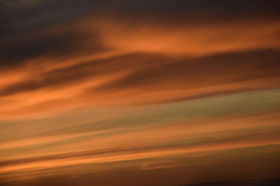 Zachód słońca w Tychach