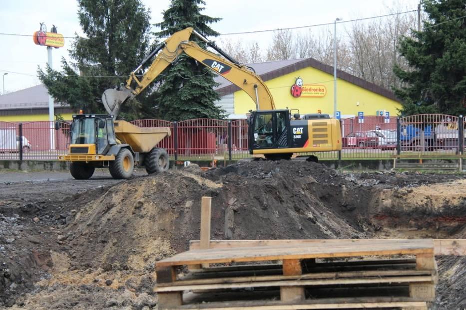 Rozpoczął się remont boiska i zaplecza sportowego CSiR-u przy ul. Konopnickiej