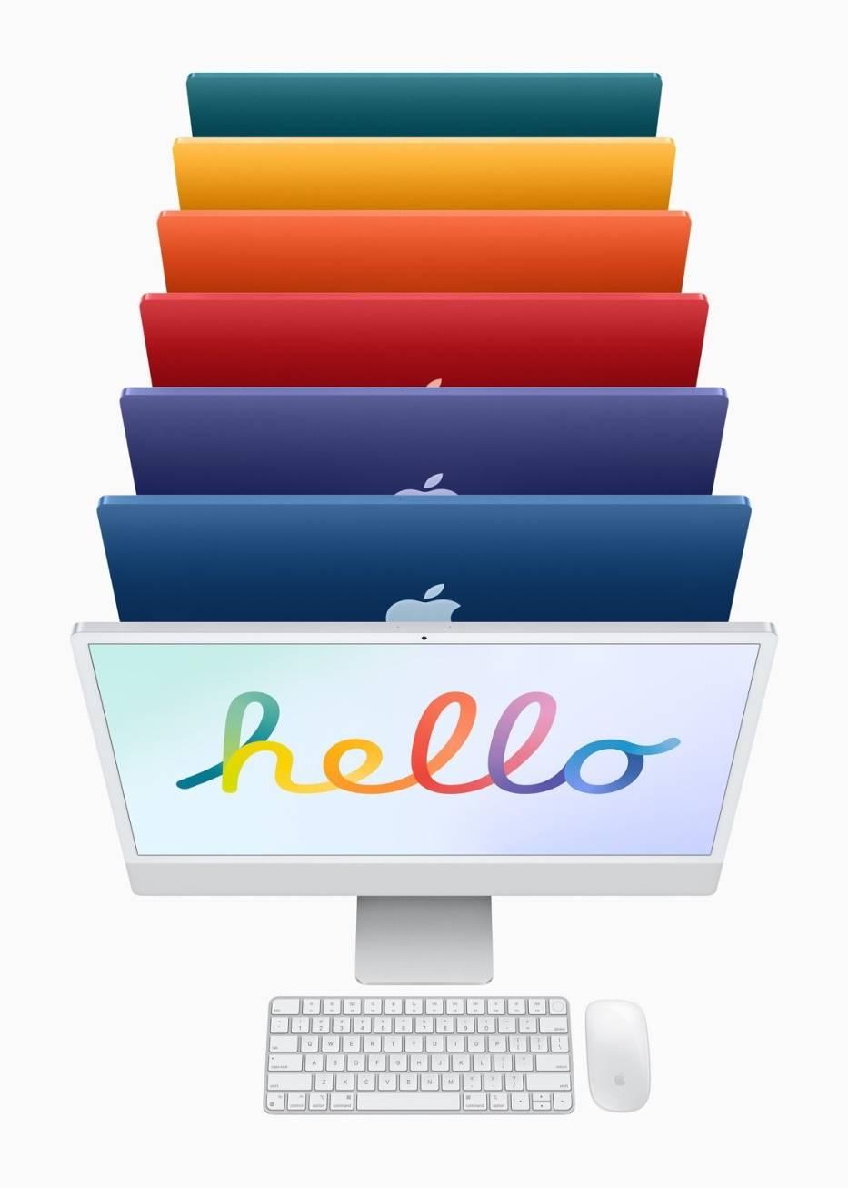 iMac - siedem kolorów