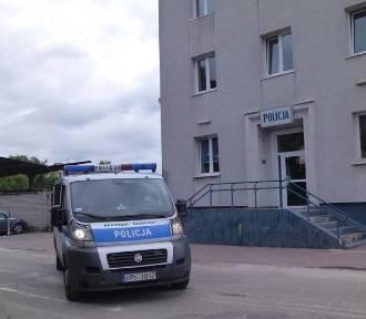 Pijany kierowca z Łowicza rozbił auto i schował się przed policją w zaroślach