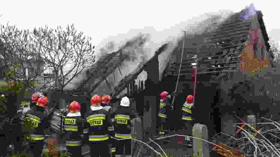 Pożar w Rudach