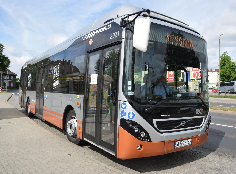 Hybrydowy autobus miejski Volvo 7900 na testach w Pile