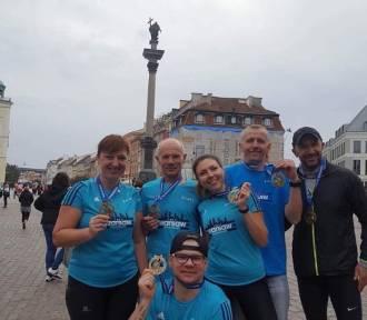 Złotowianie biegli w PZU Maraton Warszawski