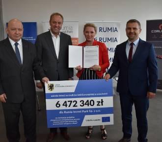 W Rumi za 23 mln zł kompleksowo  przygotują tereny inwestycyjne. Na ten cel pozyskano blisko 6,5