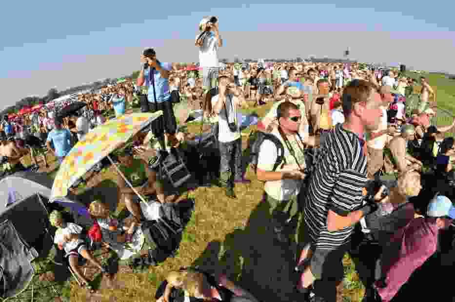 W ubiegłym roku pokazy Air Show obejrzało niespełna 200 tysięcy widzów