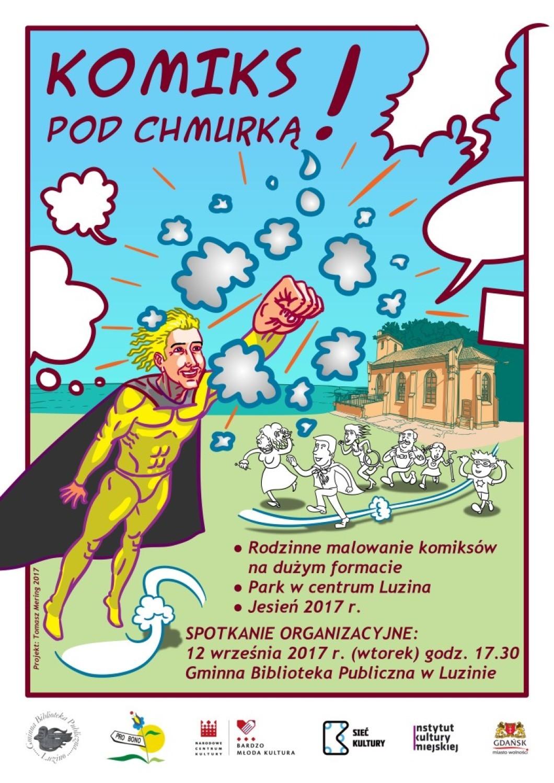 komisk o superbohaterach z Luzina