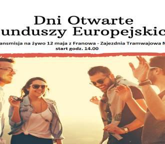 """Transmisje """"na żywo"""" z Dni Otwartych Funduszy Europejskich"""