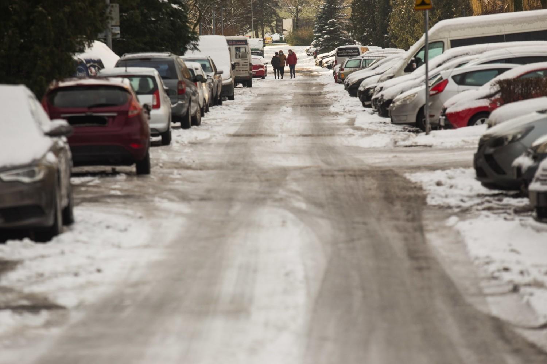 Tak wyglądają ulice w Słupsku, a będzie jeszcze więcej śniegu
