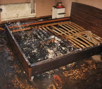 Pożar w Barcicach. Nie żyje 57-latek