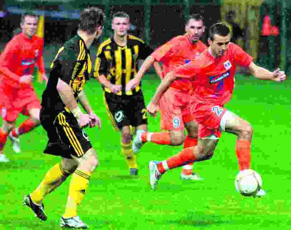 Emil Drozdowicz w zespole Termaliki Bruk-Betu Nieciecza zadebiutował w spotkaniu z GKS Katowice