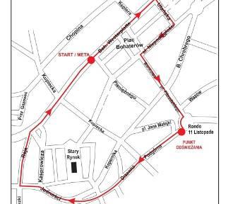 Zmiana trasy biegu o Puchar Gazety Lubuskiej. Zobaczcie