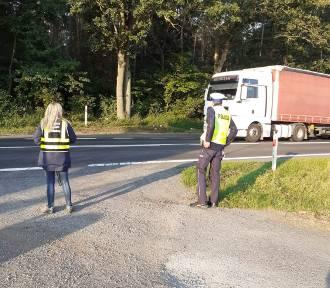 Powiat międzychodzki. Kontrolowali ciężarówki przewożące odpady