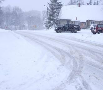 Bieszczady pod śniegiem. Zima w Czarnej i droga w kierunku Polany [ZDJĘCIA]