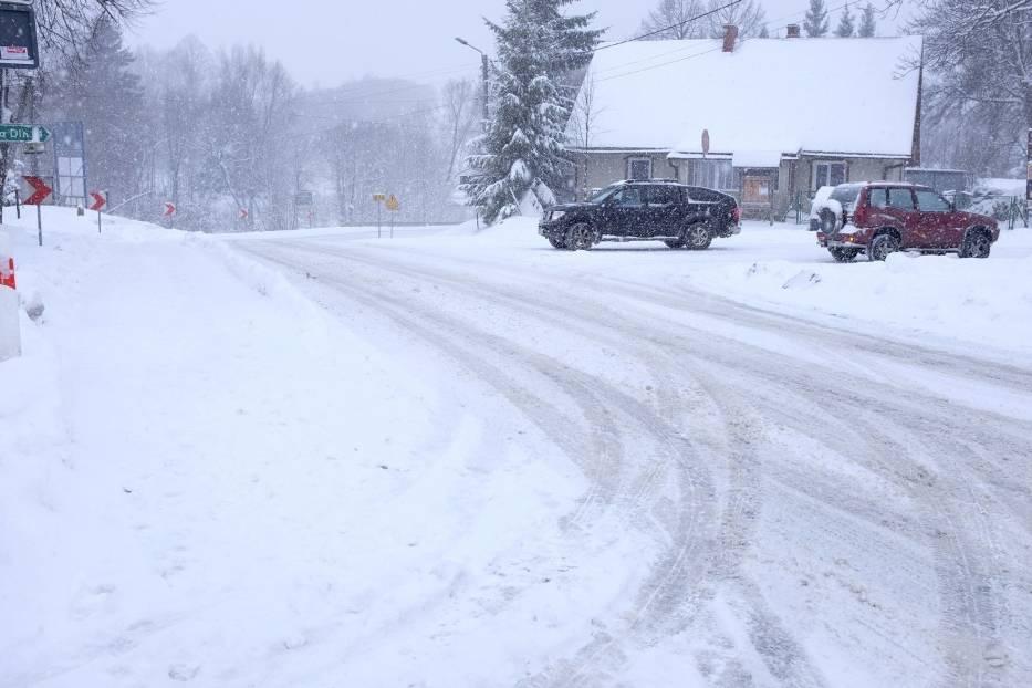 Zima wreszcie zawitała w Bieszczady
