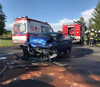 Wypadki w powiecie chodzieskim: Niebezpieczne zdarzenia w Budzyniu i Młynarach [FOTO]