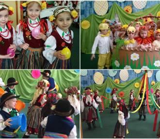 Tradycje i obrzędy wielkanocne w wykonaniu przedszkolaków [ZDJĘCIA]