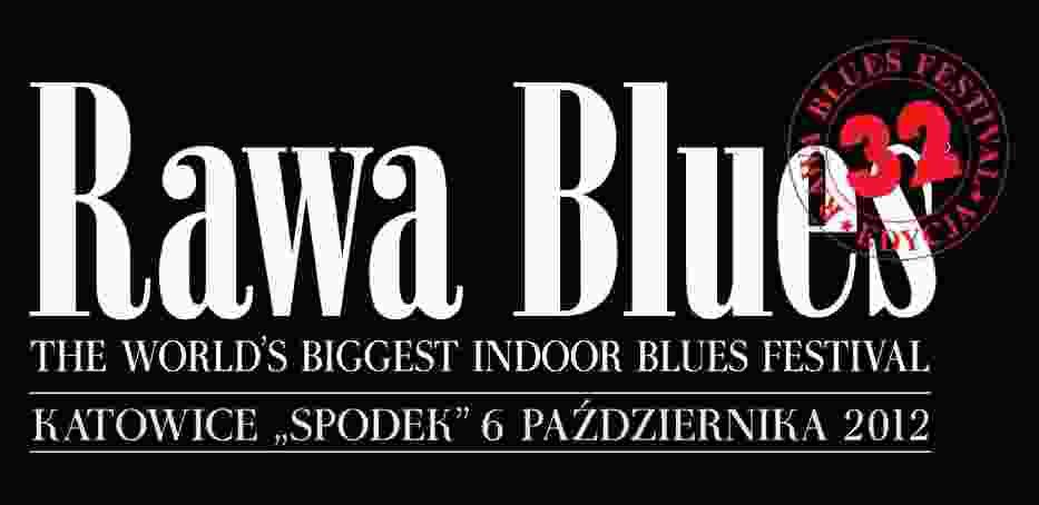 Logo tegorocznej edycji Rawa Blues Festival w Katowicach