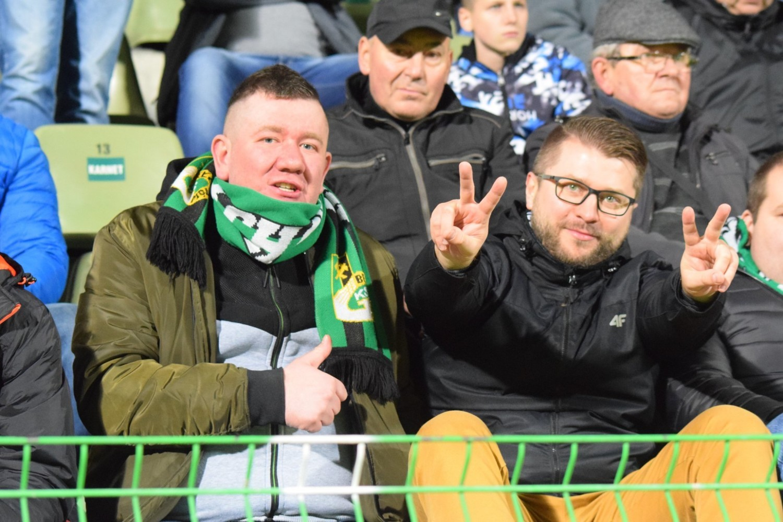 Przyjazna atmosfera na meczu GKS Bełchatów - GKS Tychy. Znajdź się na zdjęciach! [GALERIA]