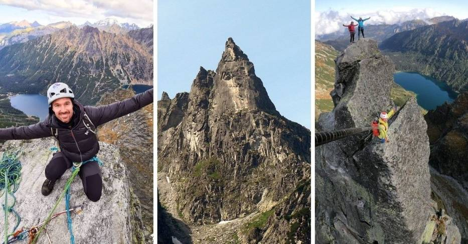 Kultowy wśród taterników Mnich jest jednym z najbardziej charakterystycznych szczytów w Tatrach
