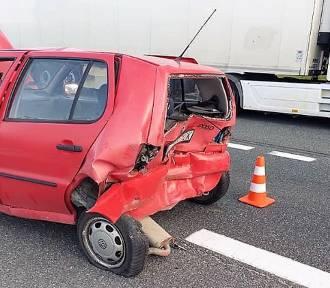 W Zedermanie doszło do wypadku z udziałem dwóch samochodów