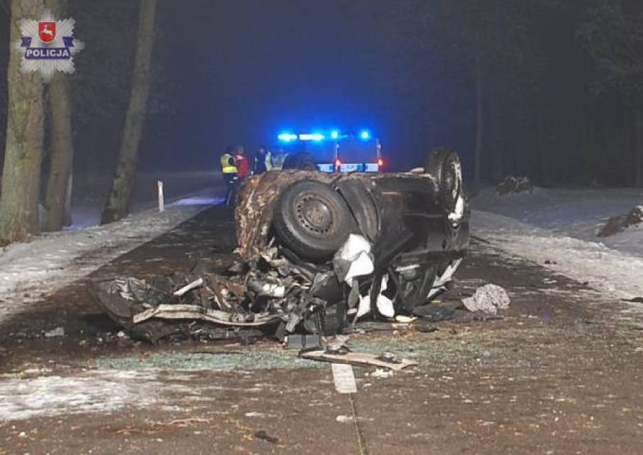 Śmierć kierowcy w Bojanówce