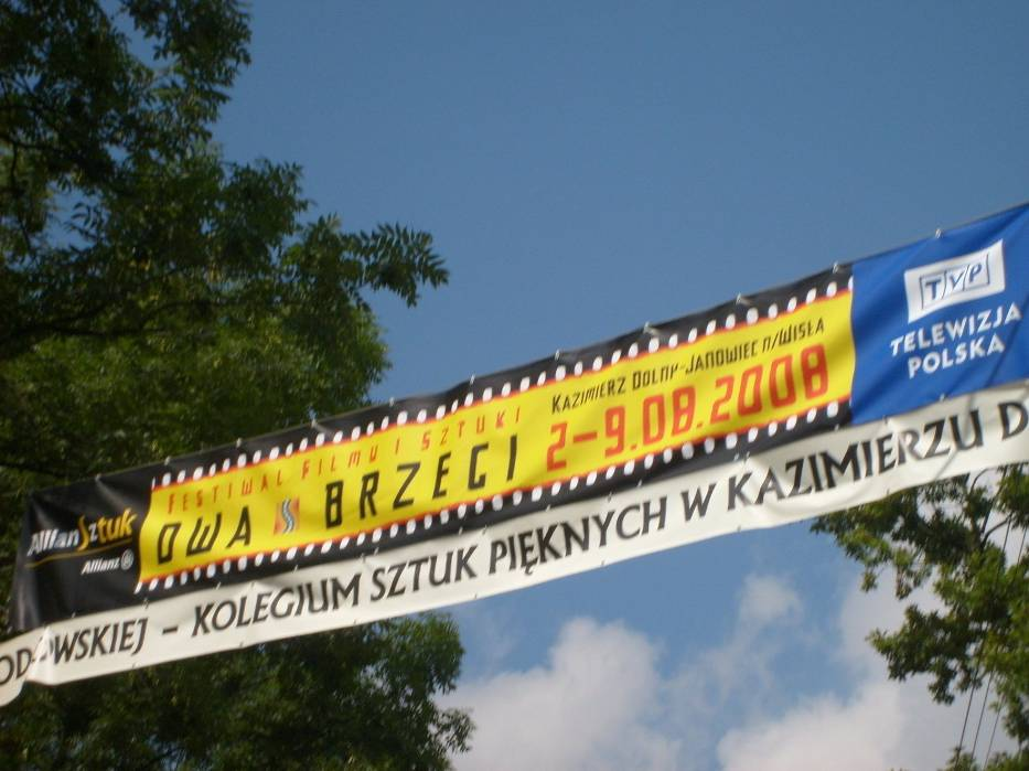 Banery, plakaty, spoty reklamowe - organizatorzy zadbali o promocję imprezy