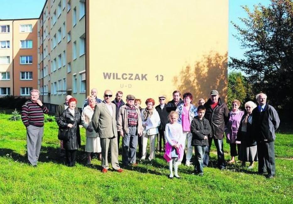 Mieszkający przy ulicy Wilczak są przeciwni budowie nowych mieszkań w tej części miasta