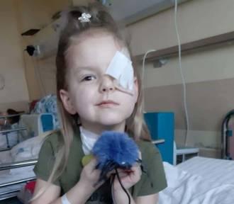 Potrzebna pomoc dla 5-letniej Niny z Gostchorza, która walczy z rzadkim nowotworem